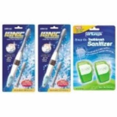 Dr. Tung 1331401430-1100138750524-S Set of Ionic Toothbrushes with Sanitizers Special