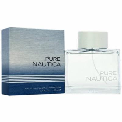 Nautica Pure Nautica for Men Eau de Toilette Spray, 3.4 oz