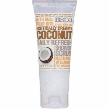 NSPA Exotically Creamy Coconut Daily Refresh Shower Scrub, 7.6 fl oz