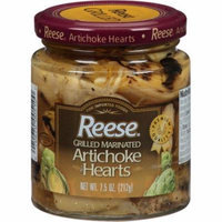 Reese Grilled Marinated Artichoke Hearts, 7.5 oz, (Pack of 12)