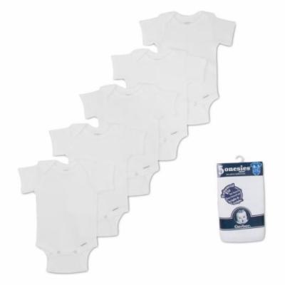 Gerber White Onesies - 5 Pack (Newborn)