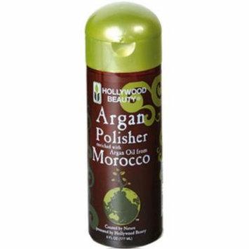 Hollywood Beauty Argan Oil Polisher, 6 oz
