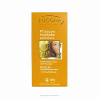 Logona Kosmetik: Pure Vegetable Hair Color Powders, Golden Blonde 3.5 oz