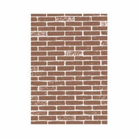 91881 Brick Paper Brown (2) 1/12 Multi-Colored