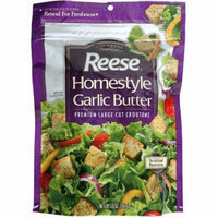 Reese: Croutons Homestyle Garlic Butter 5 Oz, 12 Pk, (Pack of 12)