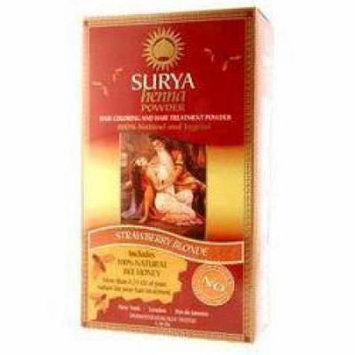 Surya - Henna Powder, Strawberry Blonde, 1.76 oz