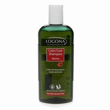 Color Care Shampoo Henna Logona 8.4 oz Liquid