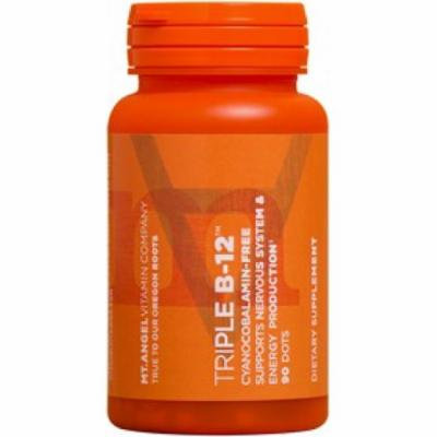 Triple B-12 Dots Mt. Angel Vitamins 90 Dots