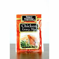 Pack of 24 Sauce Supreme Chicken Gravy Seasoning Mix 1 oz. 30004