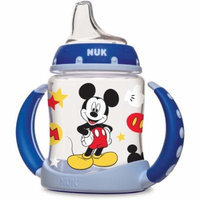 NUK Disney Mickey Mouse 5-oz Learner Cup, 1-Pack, Silicone Spout, BPA-Free