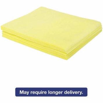 Boardwalk Yellow Dust Cloths, 500 count