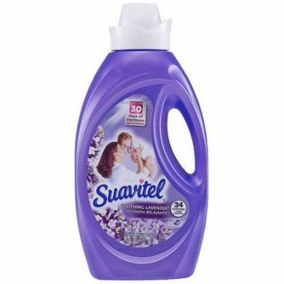Suavitel Soothing Lavender Liquid Fabric Conditioiner, 50 fl oz