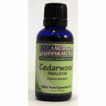 Cedarwood (Himalayan) Essential Oil American Supplements 1 oz Oil