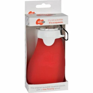 Sili Squeeze Bottle - Original with Eeeze - Red - 4 oz