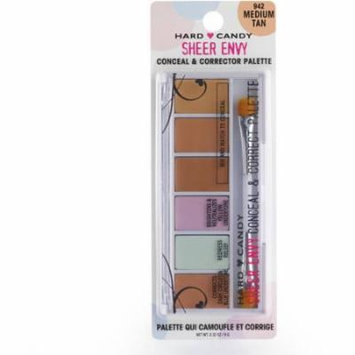 Hard Candy Sheer Envy Conceal & Corrector Palette, 2 oz