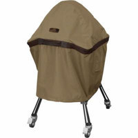 Classic Accessories Hickory Ceramic Barbecue BBQ Grill Patio Storage Cover, X-Large, Tan