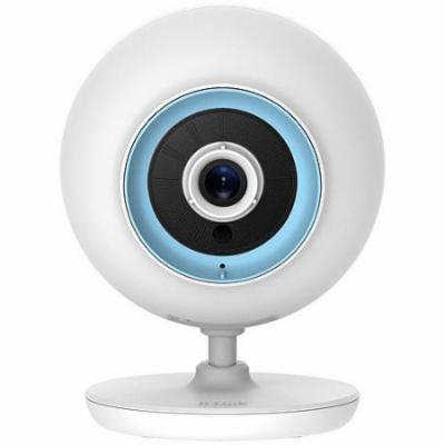 D-Link Wireless Baby Camera with Day and Night Vision, 2-Way Talk, Local and Remote Video Baby Monitor App (DCS-820L)