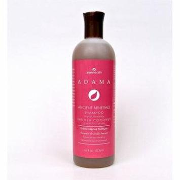 Adama Shampoo Vanilla Coconut Zion Health 16 oz Liquid