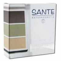 Sante - Eyeshadow Trios 5 Gram, Natural Green 04 5 gm