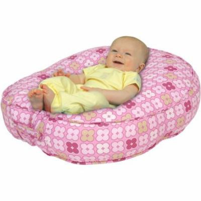Leachco Bummzie Sling-Style Infant Lounger, Pink 4 Squares