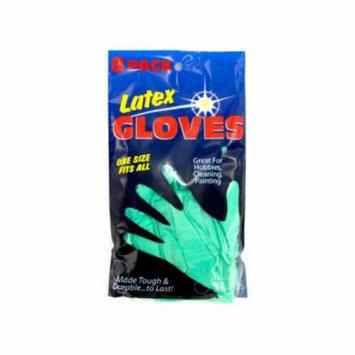 Bulk Buys Latex Gloves Set, Case of 12