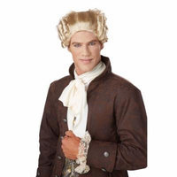 Adult 18th Century Peruke Blonde Wig by California Costumes 70701