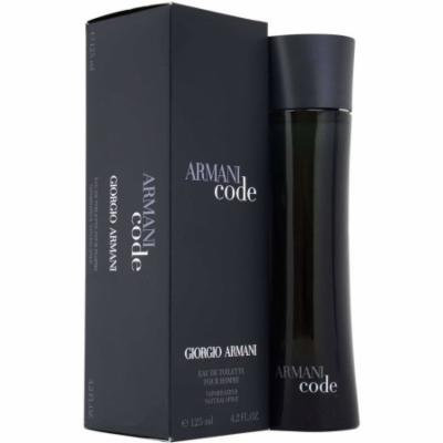 Giorgio Armani Code for Men Eau de Toilette Spray, 4.2 oz