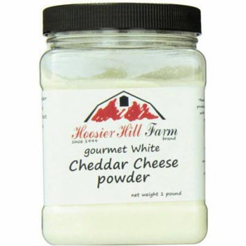 Hoosier Hill Farm Gourmet White Cheddar Cheese Powder, 1 lb