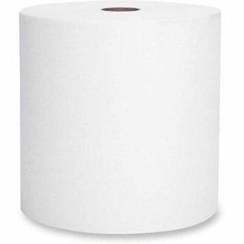 Kleenex Non-Perforated Hardroll Paper Towel Rolls, White, 6 rolls