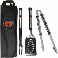 NCAA 3-Piece BBQ Set with Canvas Case, Auburn Tigers