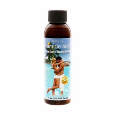 Belloccio Simple Tan 12% DHA Dark Sunless Airbrush Spray Tanning Solution
