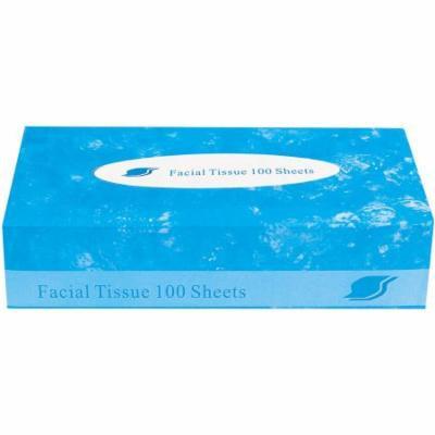 GEN 2-Ply Facial Tissue, White, 100 sheets
