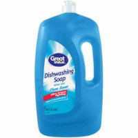 Great Value Clean Scent Ultra Concentrated Dishwashing Liquid, 90 fl oz
