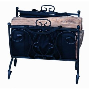 Uniflame Corporation Wrought Iron Log Holder
