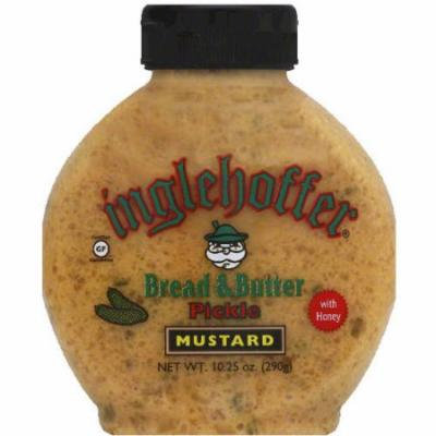 Inglehoffer Bread & Butter Pickle Mustard, 10.25 oz, (Pack of 6)
