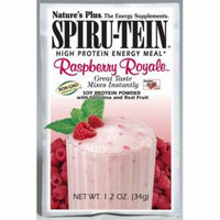 Raspberry Royale Spirutein Nature's Plus 8 Pack