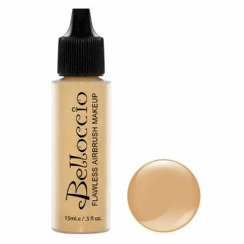 New Belloccio Pro Airbrush Makeup LATTE SHADE FOUNDATION Flawless Face Cosmetics