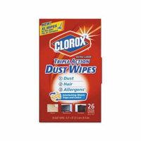 Triple Action Dust Wipes CLO31311EA