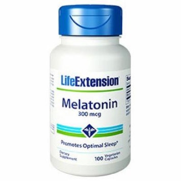 Melatonin 300mcg Life Extension 100 VCaps