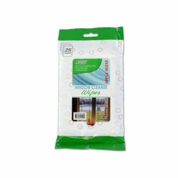 Bulk Buys Window cleaning wipes, Case of 12