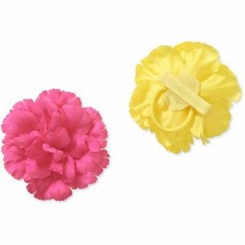 Baby Girl Flower Clips, 2-Pack