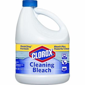 Clorox Bleach for Cleaning, Thick Cling, 82 Ounces