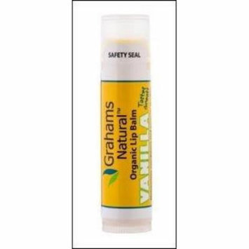 Organic Lip Balm Vanilla Graham's Natural .15 oz Lip Balm