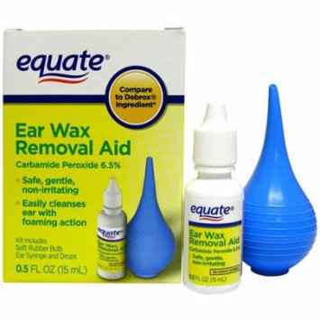 Equate Ear Wax Removal Aid, 0.5 fl oz