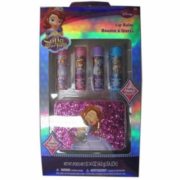Disney Girls Sofia the First Exterior Design Lip Balm Set