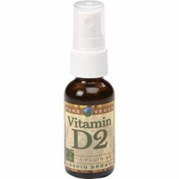 Pure Vegan Vitamin D2 Spray Pure Vegan 1 oz Spray