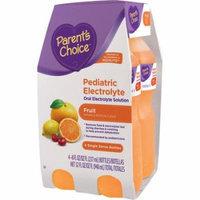 Parent's Choice Fruit Pediatric Oral Electrolyte Solution, 8 fl oz, 4 count