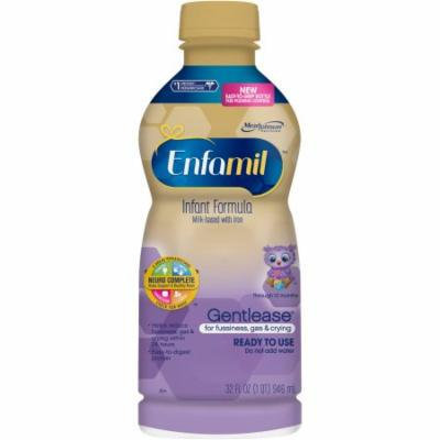 Enfamil Gentlease Bottled Liquid Formula, 32 fl oz, 6 count
