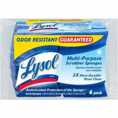 Lysol Multi-Purpose Scrubber Sponges, 6 count