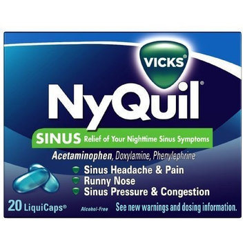 NyQuil™ Sinus LiquiCaps™